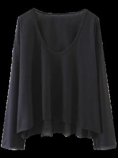 Long Sleeve Swing Tee - Black M