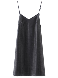 Mini Sweetheart Cami Dress - Black M