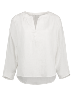 High-Low Blouse - Blanc L
