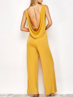 Ceñido Sin Espalda Del Mono - Amarillo S