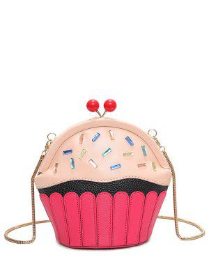 Novelty Cupcake Shaped Crossbody Bag