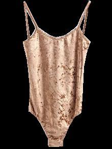d59241cd77 54% OFF  2019 Skinny Velvet Bodysuit In CHAMPAGNE M