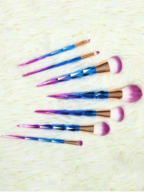 Ombre pinceles de maquillaje Set - Azul  Mobile