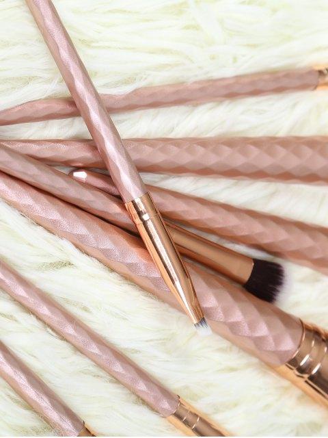 Ensemble de pinceaux de maquillage, 8 pièces - Or Rose  Mobile