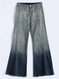 Bell Bottom Jeans - Blue Xl