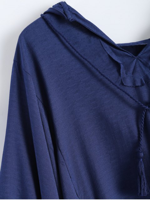 new Hooded The Endless Poncho - DEEP BLUE S Mobile