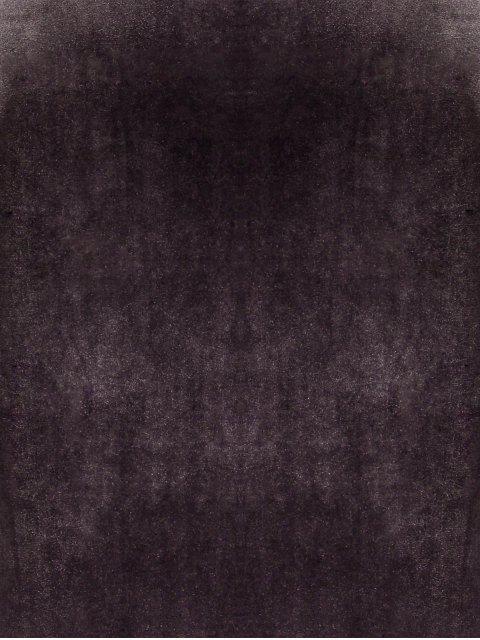 online Side Furcal Velour Slip Dress - GRAY ONE SIZE Mobile