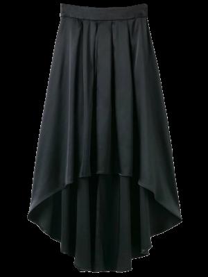 Bowknot De La Falda Asimétrica - Negro M