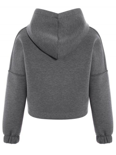 sale Space Cotton Hoodie - GRAY S Mobile