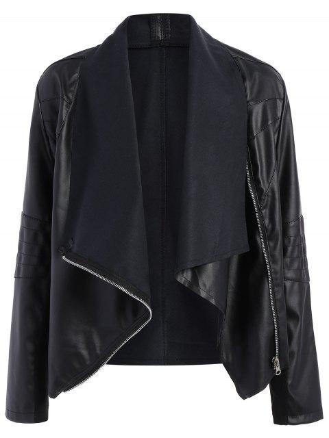 Veste drapé  de moto - Noir 3XL Mobile