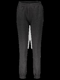 Loose Fitting Jogging Pants - Deep Gray S