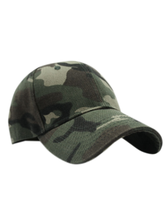 Outdoor Camouflage Pattern Sunscreen Baseball Hat - Army Green