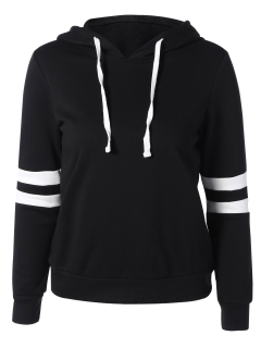 Pull Over De Sports Color Block - Noir 2xl
