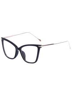 Charming Black Butterfly Sonnenbrille - Transparent