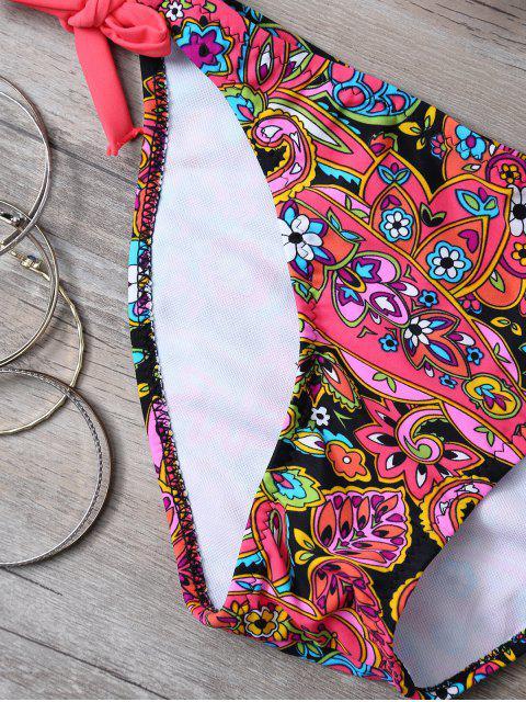Imprimer Side-Tie Bikini - Tangerine S Mobile