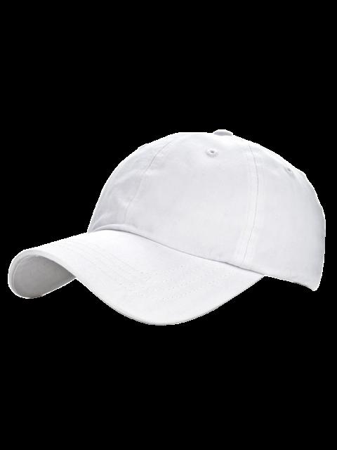 online Outdoor Sport Lovers Baseball Hat - WHITE  Mobile