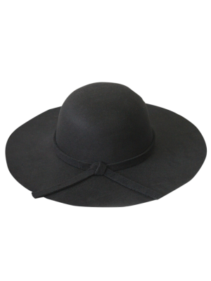 Solide Couleur Felt Floppy Hat