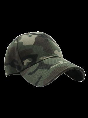 Außen  Sonnenschutz-Baseball-Mütze mit Camomuster