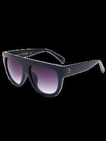 نظارات شمسية بإطار أسود - أسود