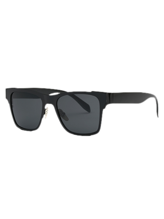 online Black Wayfarer Sunglasses - BLACK