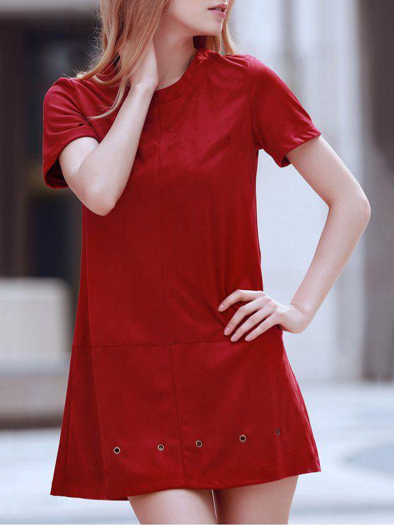new Grommet Design Wine Red Dress - WINE RED M