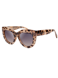 Charming Cat Eye Sunglasses - Leopard