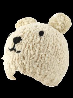 Little Bear Knit Hat - Beige