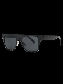 Black Wayfarer Sunglasses - Black