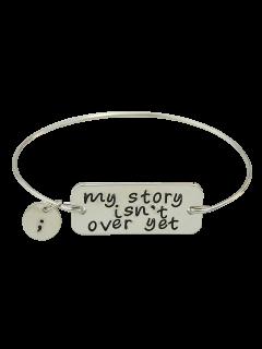 Engraved Bracelet - Silver