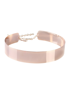Mirrored Waist Belt - Rose Gold