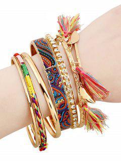 Bracelets éthniques En Strasse à Glands  - Or