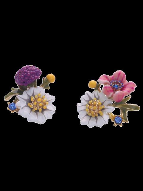 new Resin Flower Earrings - COLORFUL  Mobile