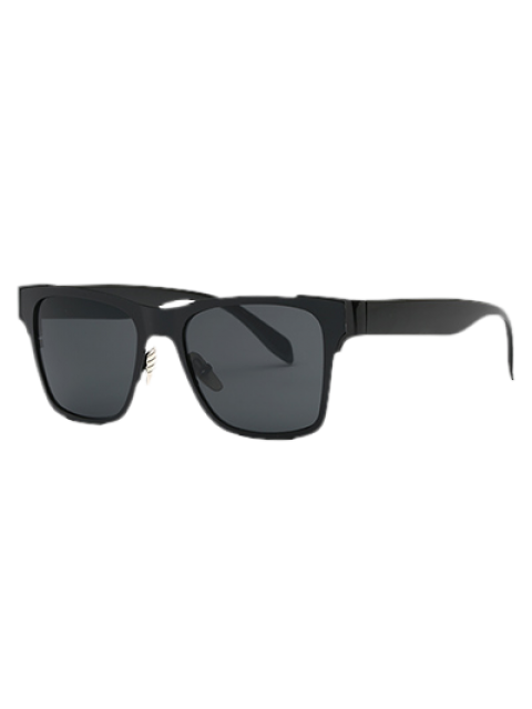 online Black Wayfarer Sunglasses - BLACK  Mobile