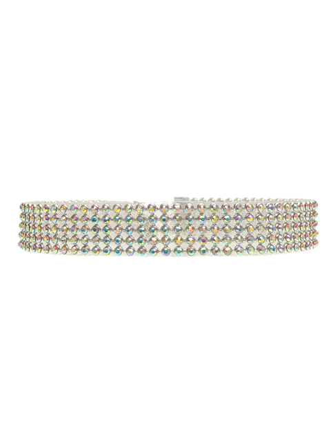 outfit Rhinestoned Choker - GOLDEN  Mobile