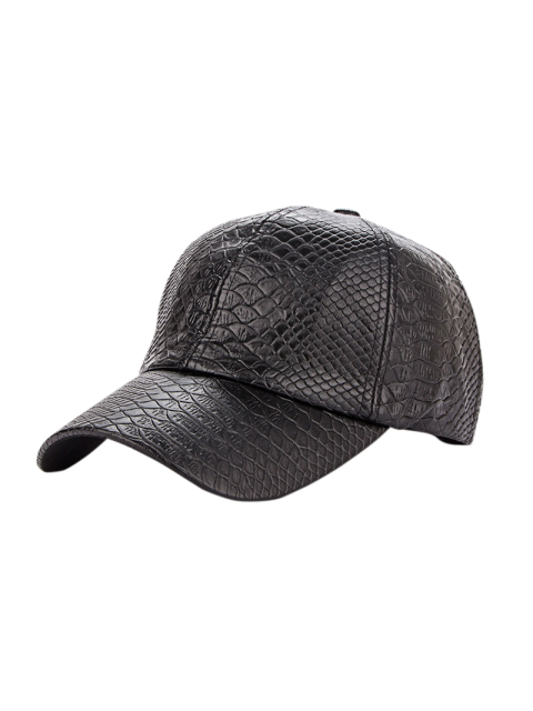 best Casual Crocodile PU Leather Baseball Hat -   Mobile