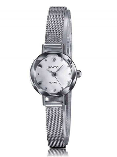outfit Alloy Band Embellished Quartz Watch -   Mobile