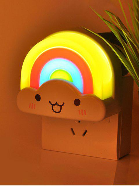 Lampes mini de table LED motif d'arc-en-ciel contrôle vocal - Coloré  Mobile