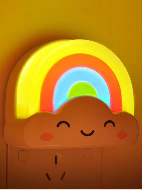 new Creative Mini Voice Control Rainbow LED Night Light -   Mobile