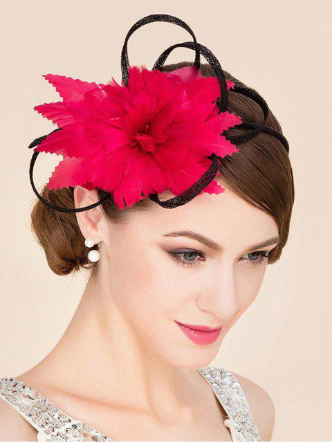 online Red Tea Party Cocktails Hat - RED  Mobile