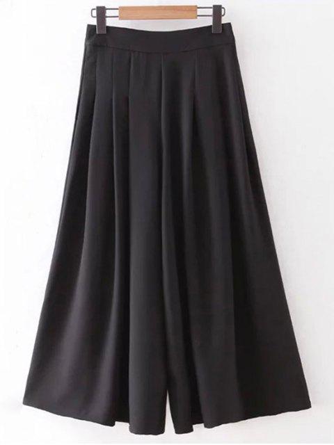Poches Hip Solid Color Culotte - Noir L Mobile