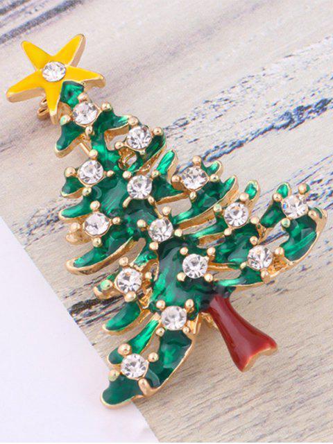 online Christmas Trees Resin Brooch -   Mobile