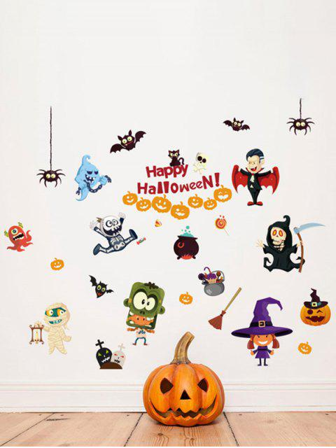 unique Halloween Cartoon Room Decorative Wall Stickers For Kids Rooms - COLORFUL  Mobile