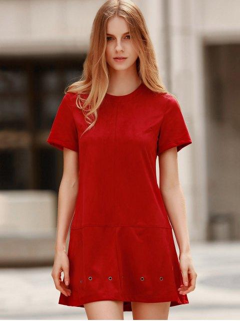 new Grommet Design Wine Red Dress - WINE RED M Mobile
