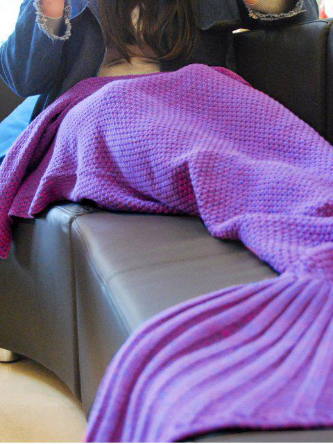 outfits Knitted Mermaid Tail Throw Blanket -   Mobile