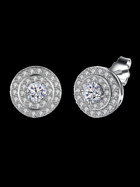 sale S925 Diamond Earrings -   Mobile