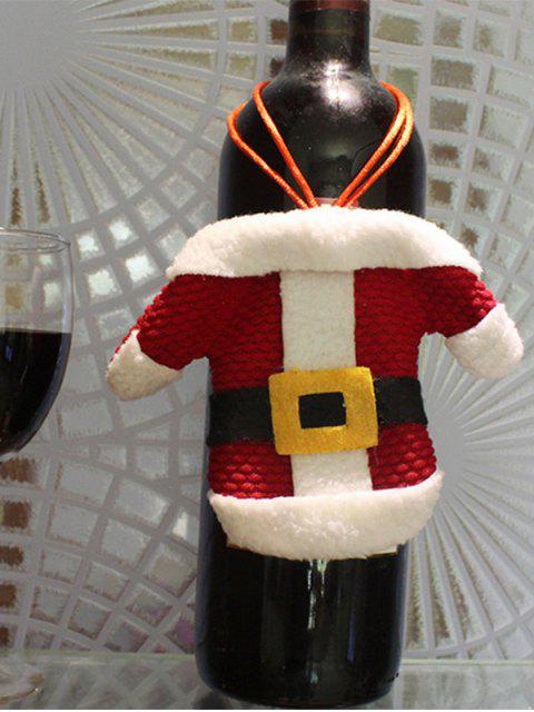 women's Christmas Santa Clothes Shape Tableware Holder Bag -   Mobile