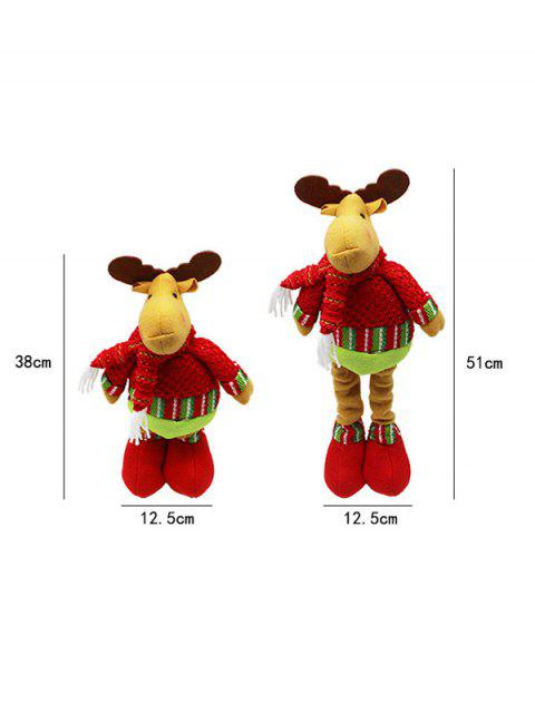 women's Christmas Party Decorative Stretched Deer Puppet Toy -   Mobile