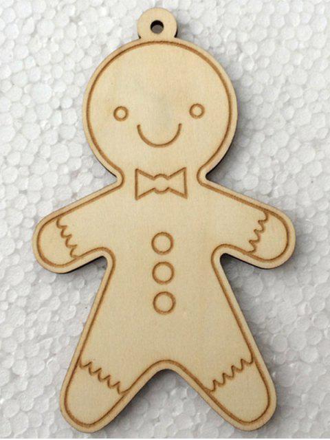 online Christmas Tree Cookie Wooden Pendants Decoration -   Mobile