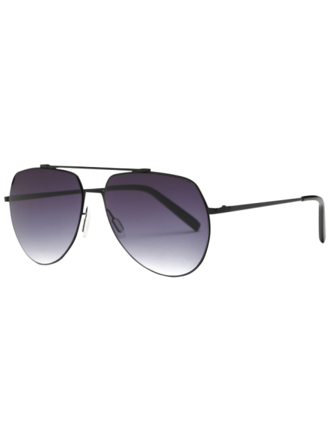outfit Lightweight Pilot Sunglasses - BLACK  Mobile