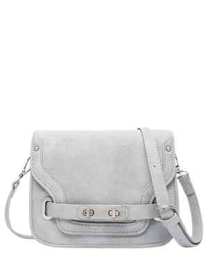 Costura doble cerrojo del bolso de Crossbody